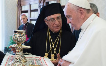 This image has an empty alt attribute; its file name is POPE-MELKITE-PATRIARCH-415x259-1.jpg